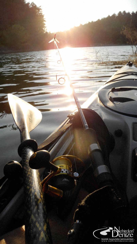 Kayak ile olta balıkçılığı | Bahadır Çapar ile nehirden denize doğru... www.nehirdendenize.com