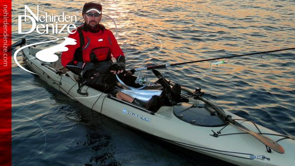 Türkiye'nin ilk ve öncü kayak oltacısı Bahadır Çapar | Bahadır Çapar is the first pioneer of the professional level kayak fishing in Turkey | nehirdendenize.com