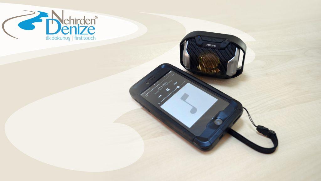 PHILIPS SB300b su geçirmez Bluetooth hoparlör  SB300b IPX7 portatif Bluetooth 4.0 hoparlöre ilk dokunuş…