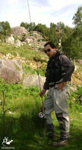 Bahadır Çapar'dan uçurma balıkçılığı, fly fishing | 2008