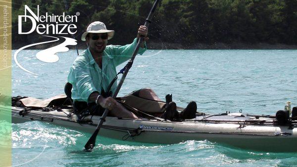 Türkiye'nin ilk ve öncü kayak oltacısı Bahadır Çapar | Bahadır Çapar is the first pioneer of the professional level kayak fishing in Turkey | nehirdendenize.com