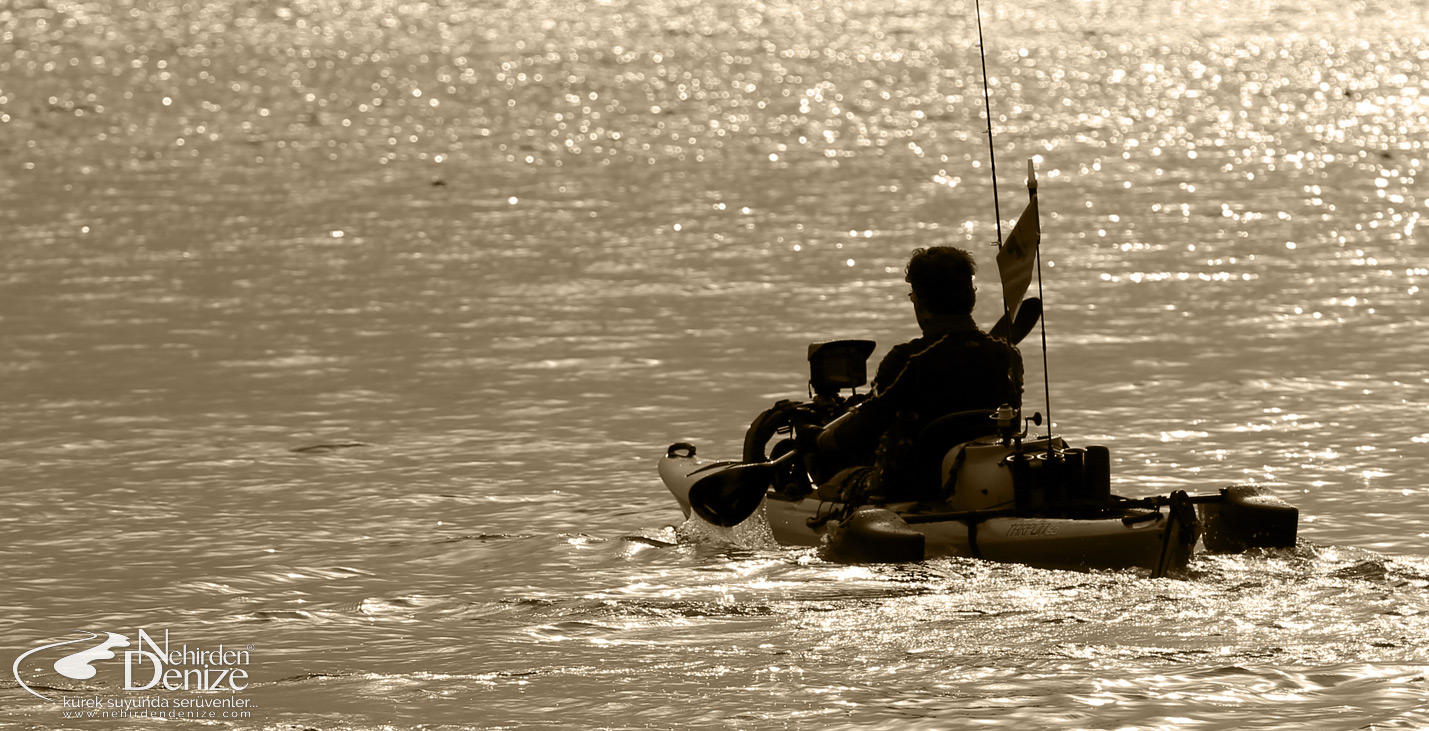 Bahadır Çapar, the first pioneer of the professional kayak fishing in Turkey.