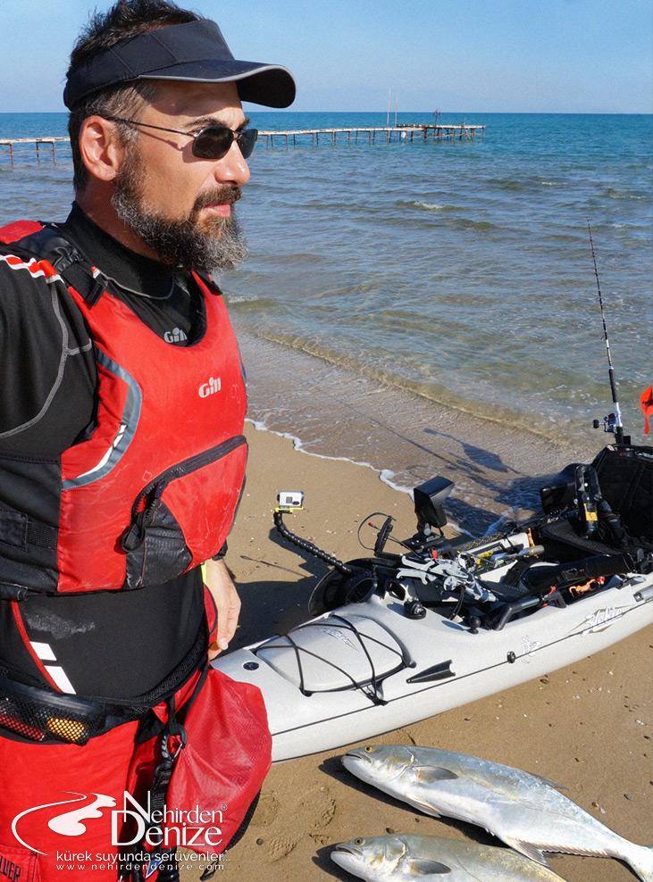 Bahadır Çapar'la kano ve kayak ile balıkçılığa dair | Nehirden Denize temaik organizasyonları