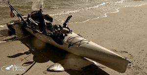 Bahadır Çapar, kayak fishing, Kayak ile oltacılık, Kano balıkçılığı, Hobie Revolution 16 kayak