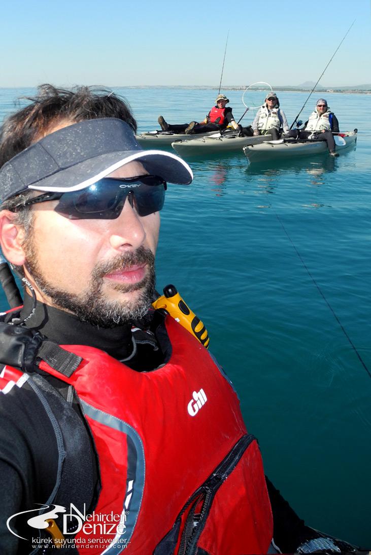 Türkiye'nin ilk ve öncü kayak oltacısı Bahadır Çapar | Nehirden denize Kano-Kayak balıkçılığı organizasyonları
