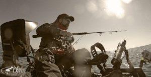 Türkiye'nin ilk ve öncü kayak oltacısı Bahadır Çapar   Bahadır Çapar is the first pioneer of the professional level kayak fishing in Turkey   nehirdendenize.com