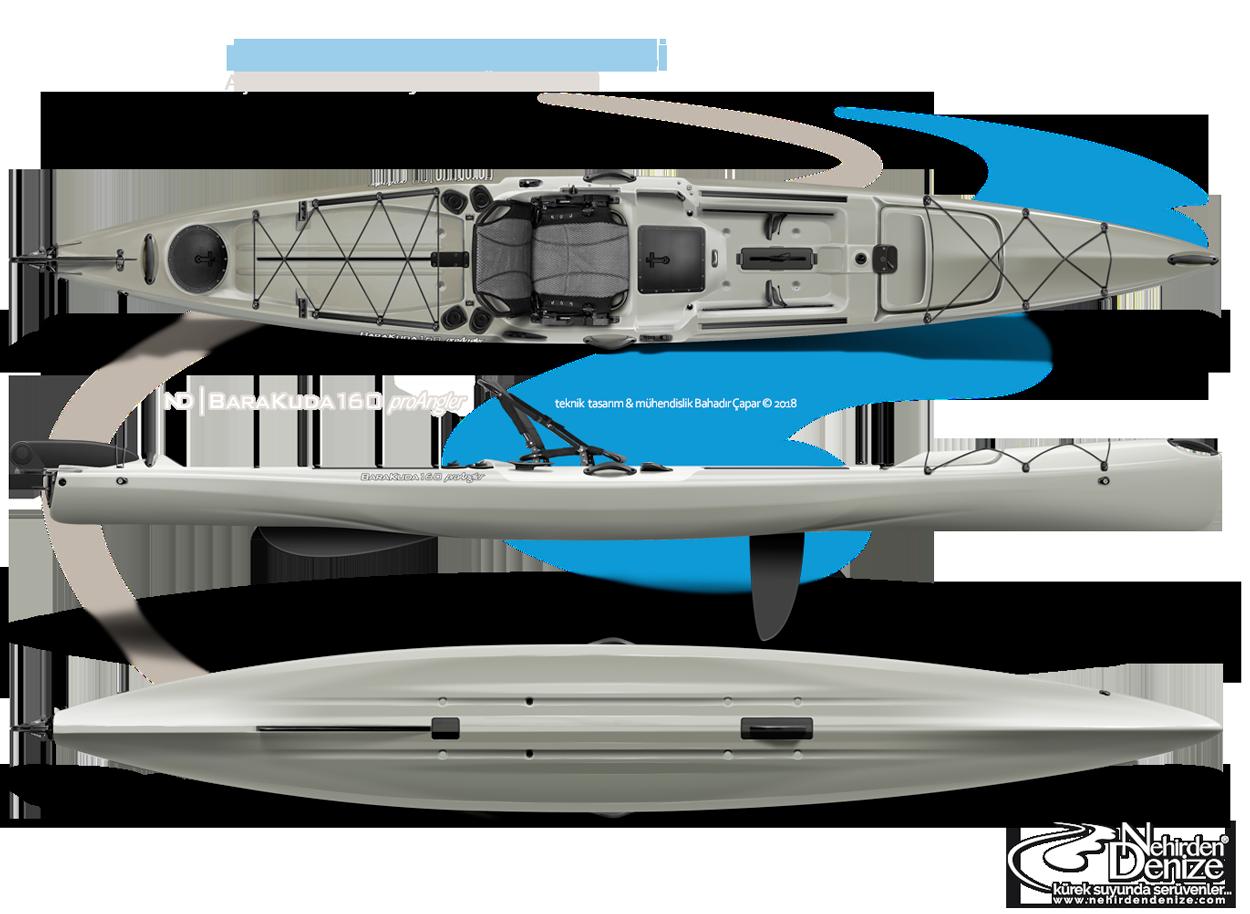 ND | KANUJAK kayaks - BaraKuda 160 proAngler